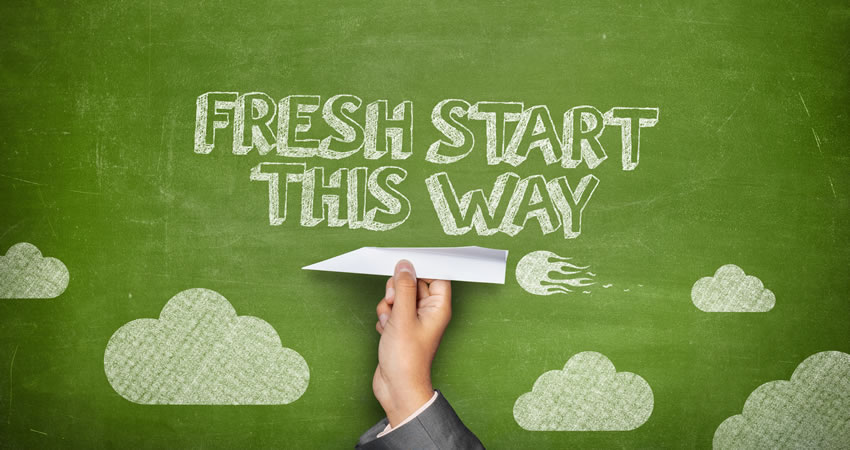 fresh start this way Chapter 13 Bankruptcy