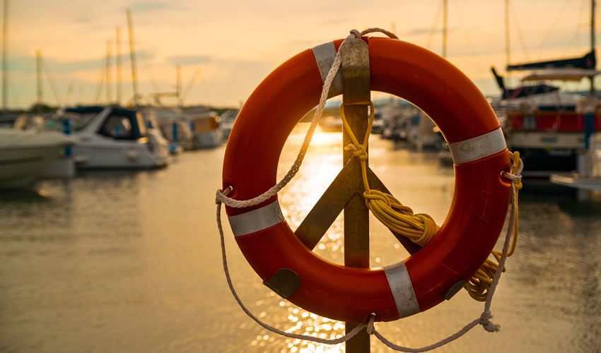 life preserver on rack - Chapter 7 bankruptcy
